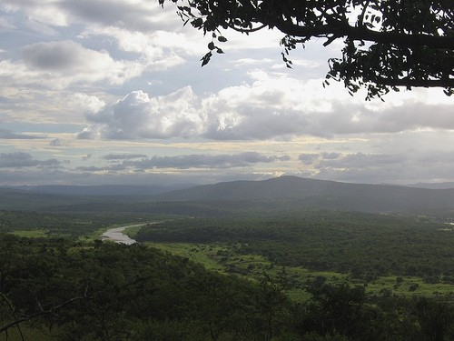 View of the Black iMfolozi River